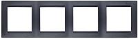 Рамка для выключателя Simon 1500640-038 (графит) -