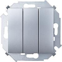 Выключатель Simon 1591391-033 (алюминий) -