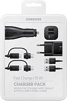 Зарядное устройство сетевое Samsung EP-U3100WBRGRU (черный) -