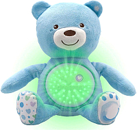 Интерактивная игрушка Chicco Мишка / 80152 (голубой) -