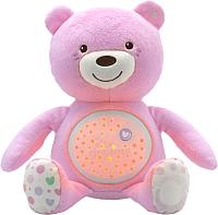 Интерактивная игрушка Chicco Мишка / 80151 (розовый) -