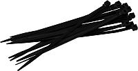 Стяжка для кабеля EKF Basic Plc-c-3.6x200 (100шт, черный) -