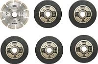 Набор отрезных, пильных дисков Ryobi RAK6AGD125 (5132003149) -