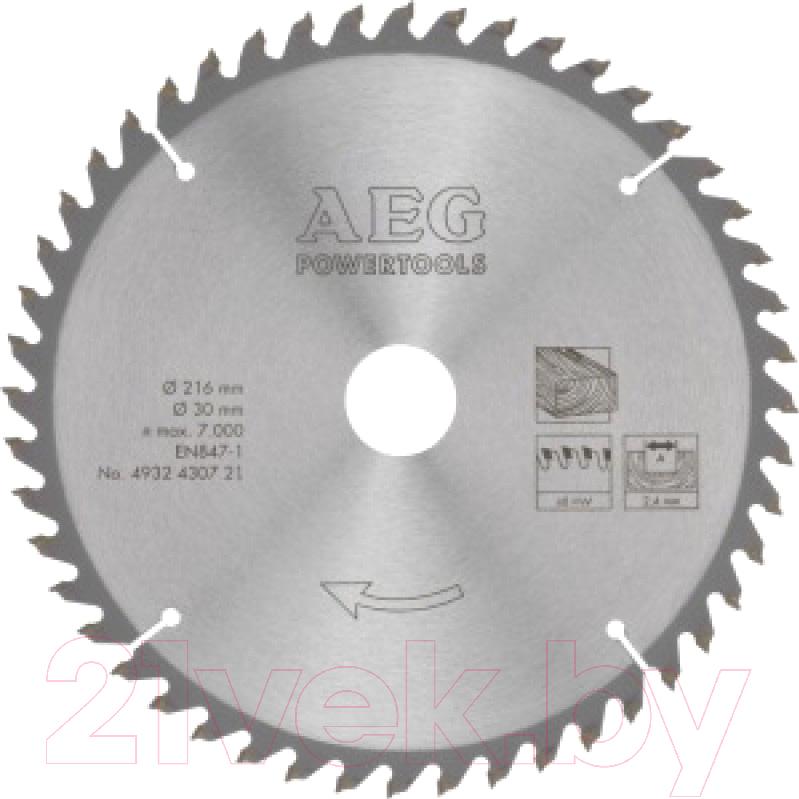 Купить Пильный диск AEG Powertools, 4932430721, Китай