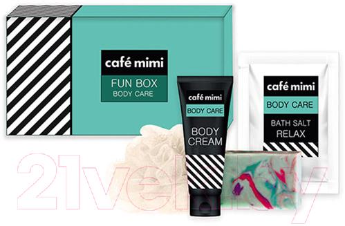 Купить Набор косметики для тела Le Cafe de Beaute, Cafe Mimi Fun Box крем д/тела 100мл+глицериновое мыло 100г, Россия