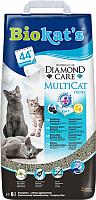 Наполнитель для туалета Biokat's Diamond Care Multicat (8л) -