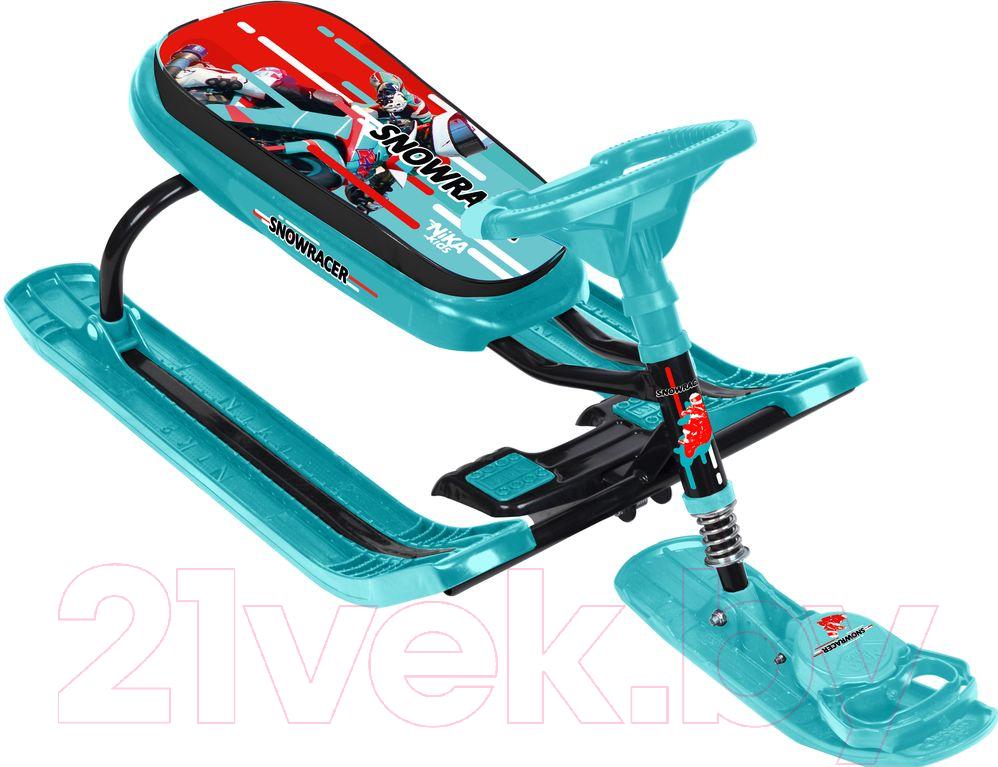 Купить Снегокат детский Ника, Тимка Спорт 5. Nika Kids Sportbike / ТС5/SB (черный каркас), Россия, пластик