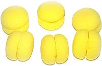 Бигуди Bradex Шарлиз KZ 0221 (желтый) -