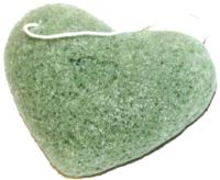 Губка для лица Bradex Конняку с экстрактом зеленого чая KZ 0351 -