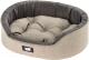 Лежанка для животных Ferplast Dandy 45 / 82941095 (серый/черный) -