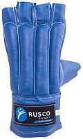 Перчатки для единоборств RuscoSport Шингарды (XL, синий) -