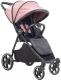 Детская прогулочная коляска Pituso Ruta (pink/grey) -