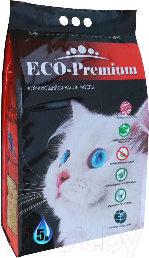 Купить Наполнитель для туалета Eco-Premium, Green (5л), Россия
