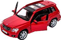 Масштабная модель автомобиля Bburago Street Fire Мерседес Бенц / 18-43016 (красный) -