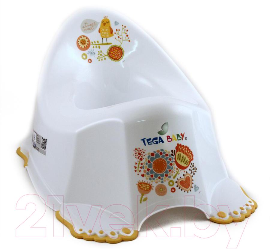 Детский горшок Tega, Фольклор, Польша, пластик  - купить со скидкой
