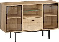 Комод Woodcraft Бруклин 9990 (дуб гамильтон натуральный) -