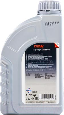 Моторное масло Fuchs Titan Supersyn 5W40 / 600930745 (1л)