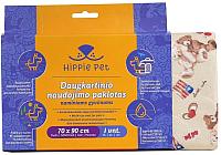 Многоразовая пеленка для животных Hippie Pet UPB-101M (70x90) -