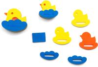 Набор игрушек для ванной El Basco Семейство уточек / 03-003 -