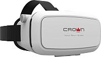 Шлем виртуальной реальности Crown CMVR-07 (белый) -