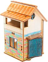 Сборная игрушка Balance.toys Минимир. Дом с мансардой / Min02 -