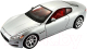 Масштабная модель автомобиля Bburago Мазерати Гран Туризмо / 18-22107 (серебристый) -