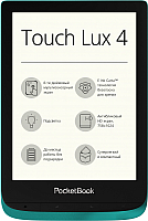 Электронная книга PocketBook Touch Lux 4 627 / PB627-C-CIS (изумрудный) -