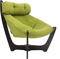 Кресло мягкое Импэкс 11 (венге/Verona Apple Green) -