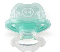 Прорезыватель для зубов Happy Baby 20000 с колпачком (мятный) -