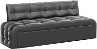 Диван Mebelico Люксор 38 / 58915 (экокожа, черный) -