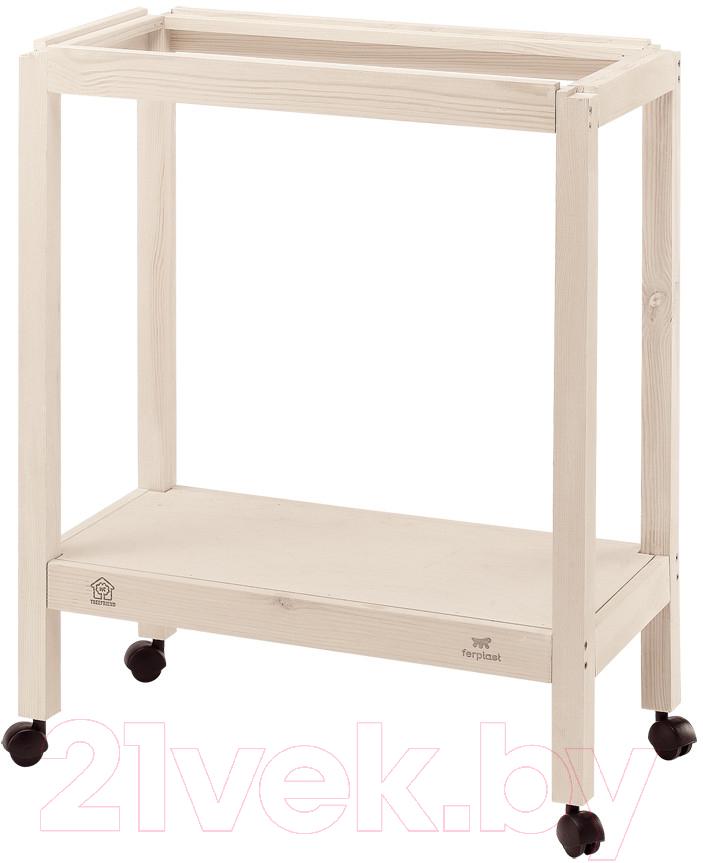 Купить Подставка для клетки Ferplast, Giulietta 4 / 90104000 (деревянная), Италия