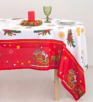 Скатерть Гранд-Стиль Доляна. Новогодние сани / 3807425 (110x150) -