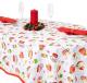 Скатерть Гранд-Стиль Новогоднее чаепитие / 3810776 (110x144) -