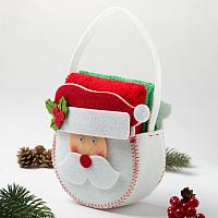 Набор полотенец Гранд-Стиль Дед Мороз / 3445992 (2шт) -