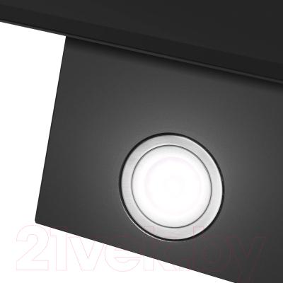 Вытяжка декоративная Maunfeld Topaz 60 (черное стекло)