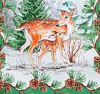 Дорожка на стол Этель Новогодний лес / 3629034 (40x147) -