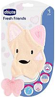 Прорезыватель для зубов Chicco Fresh Friends 3 в 1 / 340624040 (розовый) -