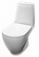 Унитаз напольный Керамин Трино Premium (с жестким сиденьем и микролифтом) -