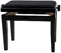 Стул для музыкантов Gewa Deluxe 130010 (черный блеск/черное сиденье) -