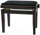 Стул для музыкантов Gewa Deluxe Rosewood mat / black seat 130040 -