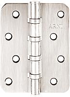 Петля дверная Arni 100x75 SN (овальная) -