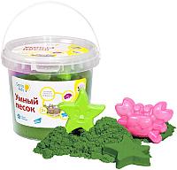 Кинетический песок Genio Kids Умный песок / SSR104 (1кг, зеленый) -