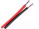 Кабель Electraline 31076 (500м, красный/черный) -