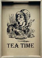 Поднос Grifeldecor Tea Time / BZ172-8W22 (оливковый) -
