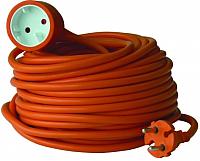Удлинитель Electraline 01613 (20м, оранжевый) -