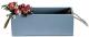 Ящик для хранения Grifeldecor С ручками из веревки / BZ172-2G104 (серый) -