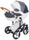 Детская универсальная коляска Noordline Amelis Hugo 2 в 1 (granat) -