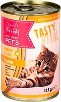 Корм для кошек My Happy Pets С курицей (415г) -