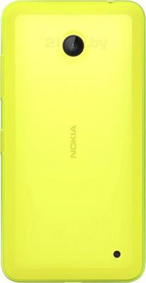 Смартфон Nokia Lumia 630 Dual (Yellow) - задняя панель