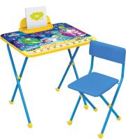 Комплект мебели с детским столом Ника КП2/8 Математика в космосе -